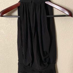 BCBG Dresses - BCBG Black Layered Ruched Dress